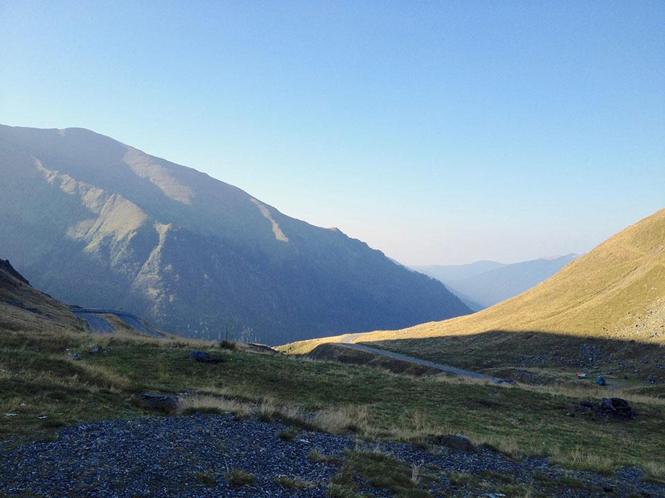 Transfagarasan Mountain Pass South Side