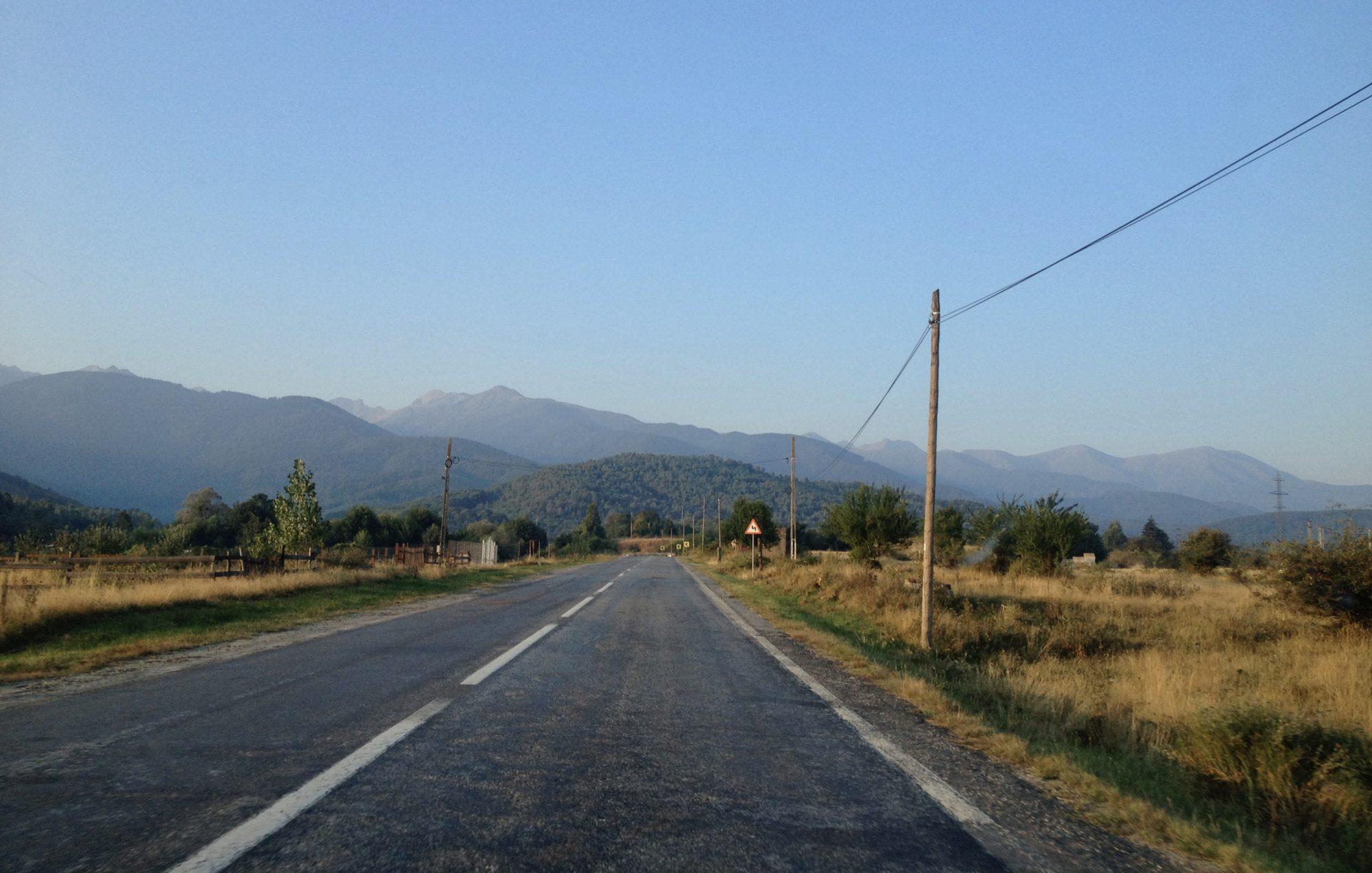 Foto Transfagarasanu o siedmej ráno